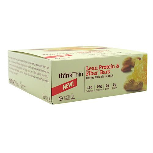 Think Products 3110034 Think Thin Lean Honey Drizzle Peanut