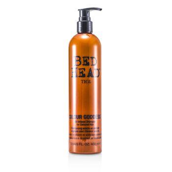 Tigi 169771 13.5 oz Bed Head Colour Goddess Oil Infused Shampoo for Coloured Hair