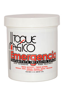 Toque Magico Emergencia U-HC-6516 Deep Intensive Hair Treatment - 16 oz - Treatment