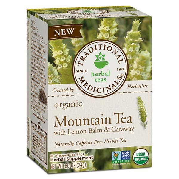 Traditional Medicinals 232041 Organic Mountain Tea with Lemon Balm