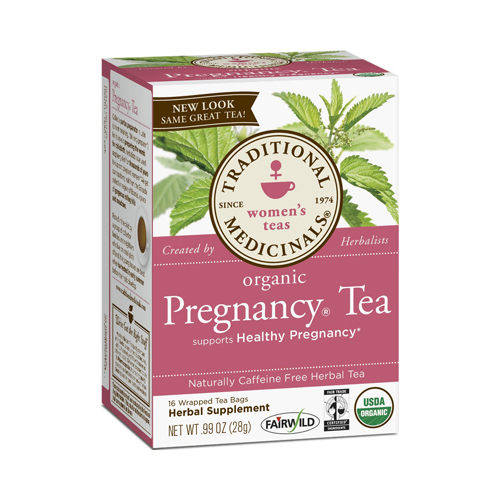 Traditional Medicinals 669937 Traditional Medicinals Organic Pregnancy Tea - Caffeine Free - 16 Bags
