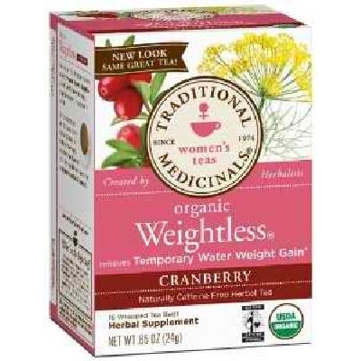 Traditional Medicinals BG19126 Traditional Medicinals Wgtls Cran Tea - 6x16BAG