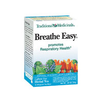 Traditional Medicinals Cold & Flu Tea Breathe Easy 16 tea bags 1702