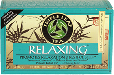 Triple Leaf Tea 29232 Relaxing Herb Tea