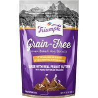 Triumph 486145 12 oz Grain Free Dog Biscuits - Peanut Butter