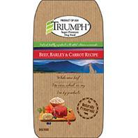 Triumph Pet Industries-Triumph Beef Barley And Carrot Dog Food 3.5 Pound 00876