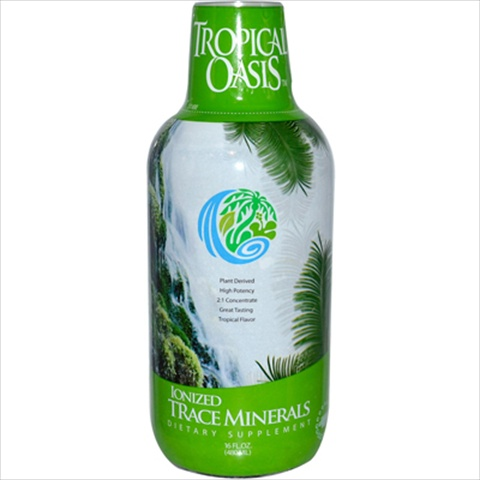 Tropical Oasis Ionized Trace Minerals - 16 Fl Oz