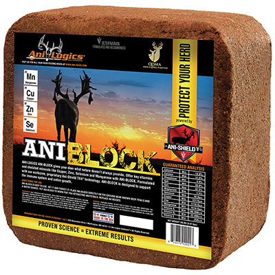 True Value 210177 20 lbs Ani-Block Deer Mineral Block