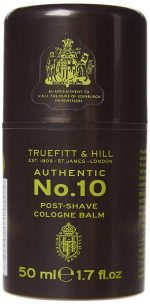 Truefitt & Hill 176652 3.4 oz No.10 Post - Shave Cream Cologne Balm for Men