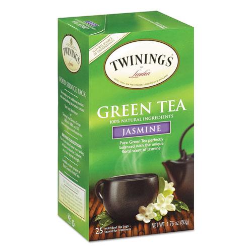 Twg 10021 1.76 oz. Tea Bags Green With Jasmine