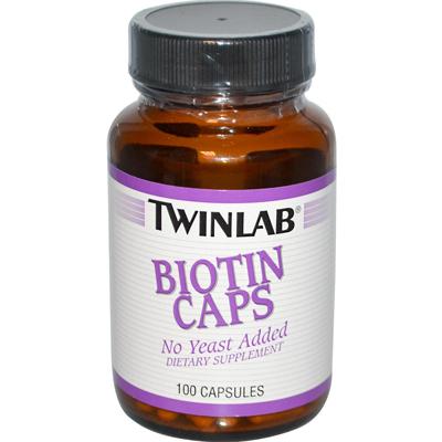 Twinlab Biotin Caps - 600 Mcg - 100 Capsules