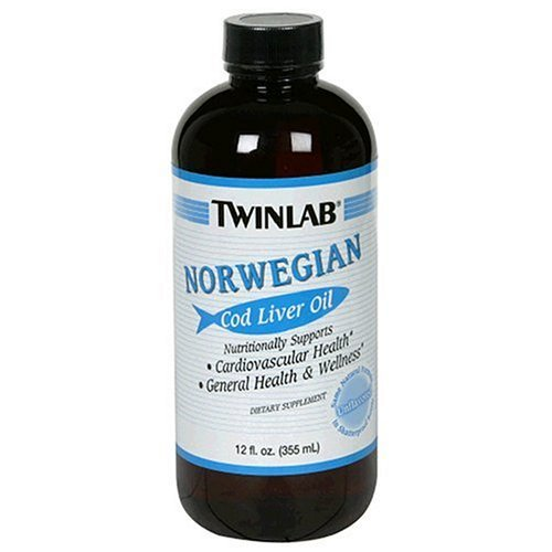 Twinlabs 80476 Plain Cod Liver Oil by Twinlab