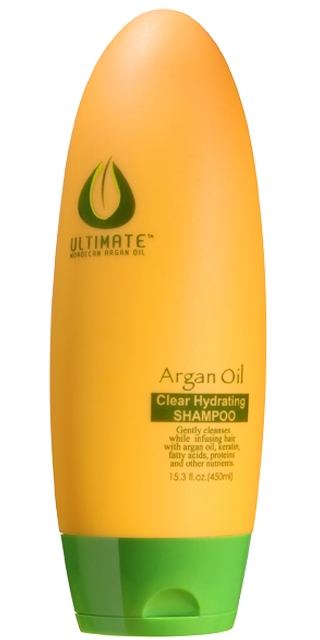 ULTIMATE Argan Oil 450 ml. Clear Hydrating Shampoo