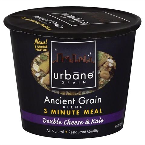 URBANE GRAIN MEAL 3MIN DBL CHS&KALE-2 OZ -Pack of 6