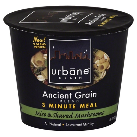 URBANE GRAIN MEAL 3MIN MISO&MSHRM-2 OZ -Pack of 6