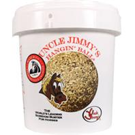 Uncle Jummys Brand 084120 Uncle Jimmy S Hangin Ball Treats for Horses