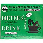 Uncle Lees China Green Dieters Tea Dieters Drink - 18 Tea Bags