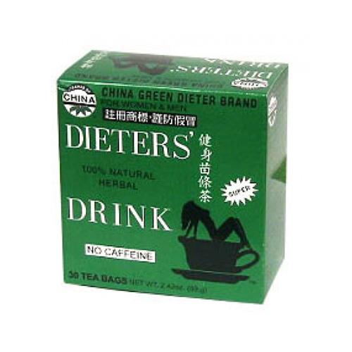 Uncle Lees Tea ECW257063 Dieters Tea for Weight Loss - 12 Per Bag