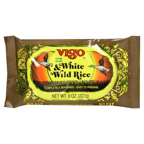 VIGO RICE DNNR WHT WLD HERB-8 OZ -Pack of 12
