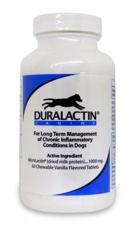 VPL 015VPL02-D60 Duralactin Canine Vanilla Flavored Chew Tabs 1000 mg