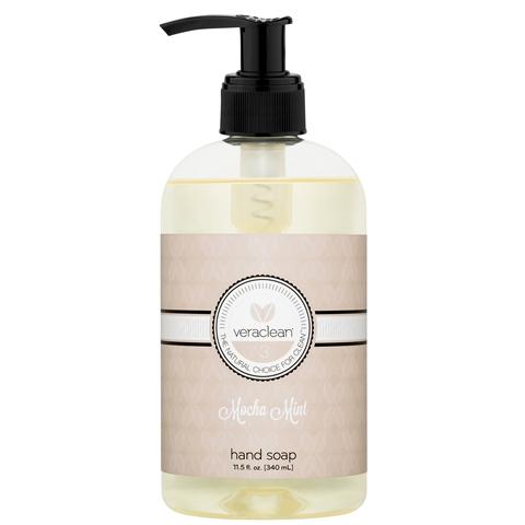 VeraClean Mocha Mint Hand Soap 3 Pack