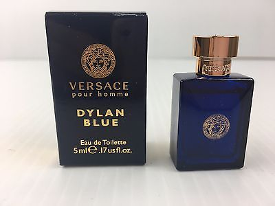 Versace VDBMT017 0.17 oz Dylan Blue Eau De Toilette Mini for Men