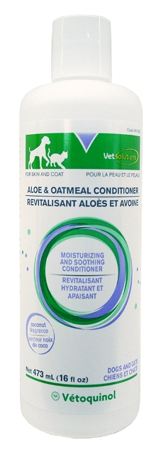 Vetoquinol 013VET-AO16C Vet Solutions Aloe And Oatmeal Skin And Coat Conditioner