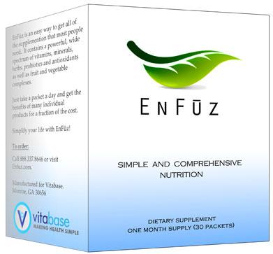 Vitabase SV13888 Enfuz - Basic 30 Packets