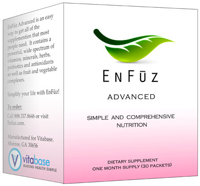 Vitabase SV13889 Enfuz - Advanced 30 Packets