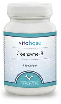 Vitabase SV2558 Coenzyme-B 50 Vegetarian Capsules