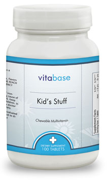 Vitabase SV5126 Kids Stuff Multivitamin 100 Tablets