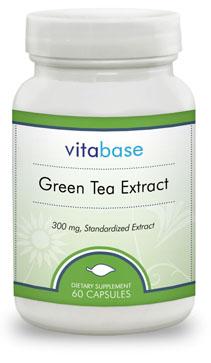Vitabase SV888 Green Tea Extract - 300 Mg - 60 Capsules
