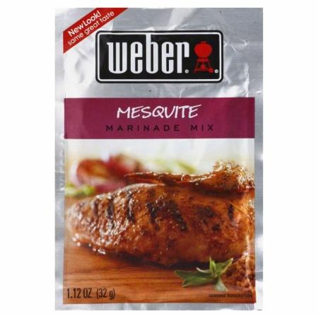 WEBER MIX MARINADE MESQUITE-1.12 OZ -Pack of 12