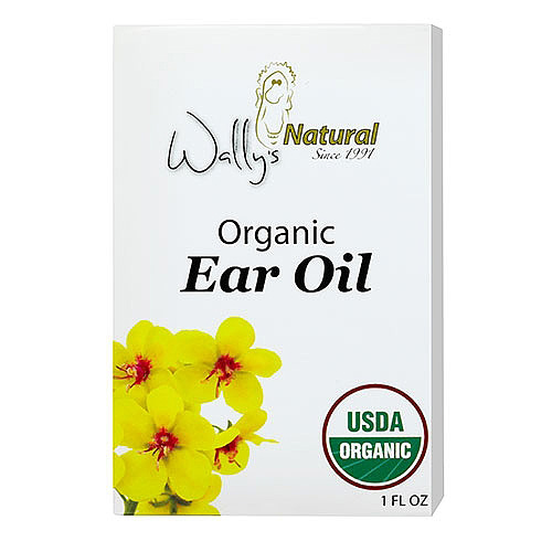 Wallys Natural Products 1574524 1 oz Organic Ear Oil