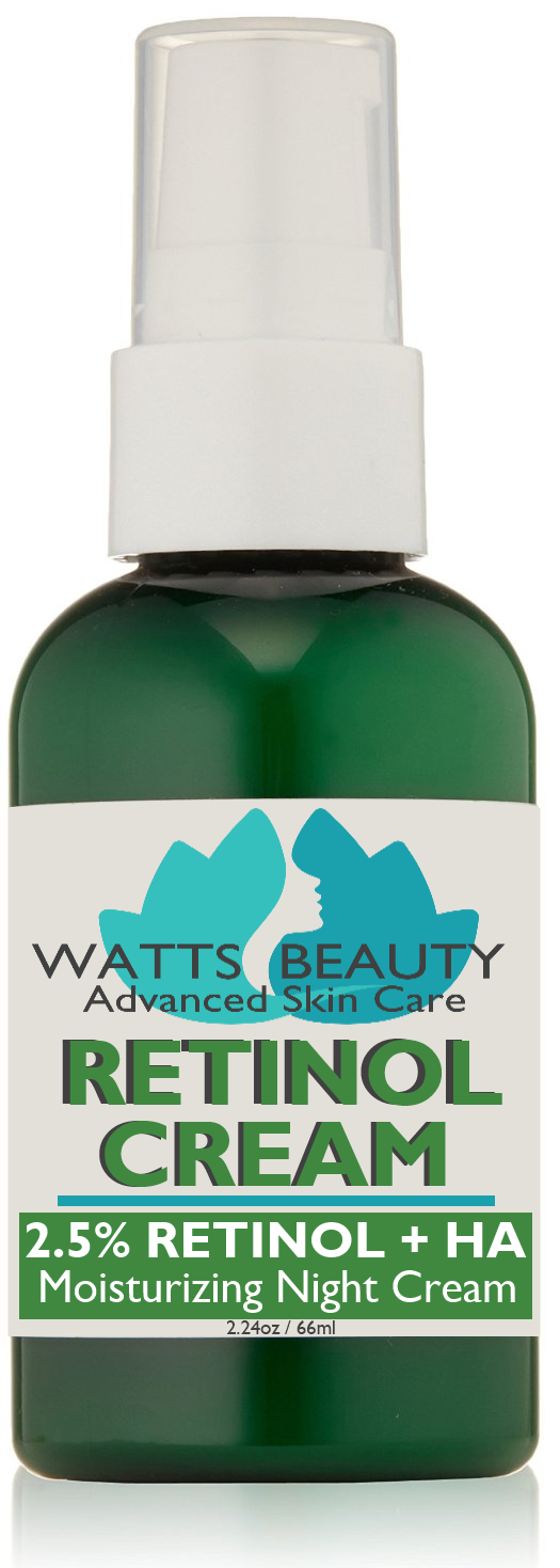 Watts Beauty Antiaging 2.5% Retinol Cream 2.24 oz