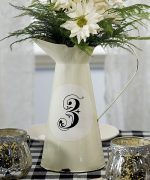 Weddingstar 9253 French Proven al Style Enamel Pitcher