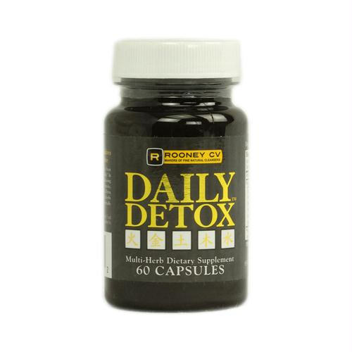 Wellements 1071216 Wellements Rooney CV Daily Detox Multi Herb - 60 Capsules