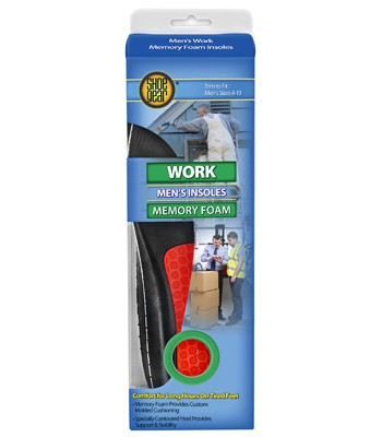 Westminster Pet Products 237024 Mens Foam Work Insoles