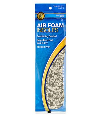 Westminster Pet Products 237031 Men Air Foam Insoles
