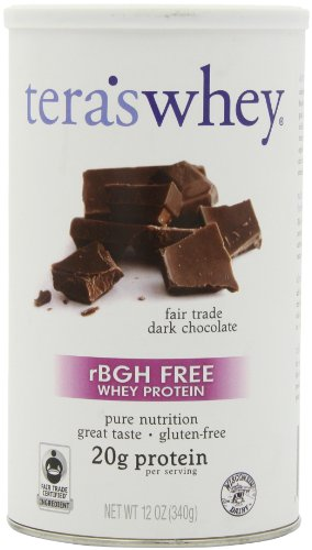 Whey Prot Dark Chocolate 12 OZ