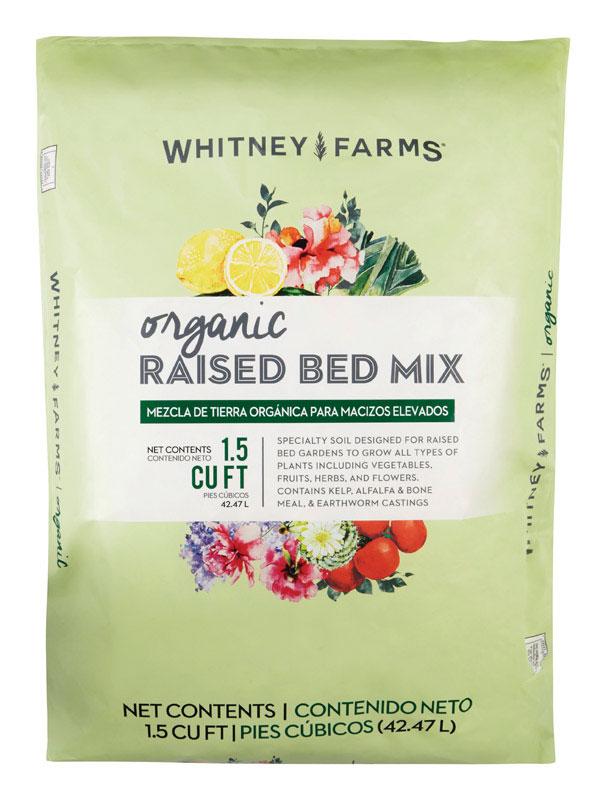 Whitney Farms 7505977 1.5 cu ft. Organic Raised Bed Soil