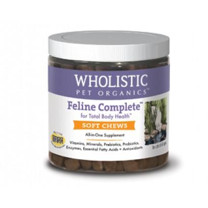 Wholistic Pet Organics CSTWP460 Feline Complete Soft Chews - 150 Count