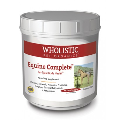 Wholistic Pet Organics ESTWP5 2 lbs Equine Complete for Total Body Health
