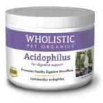 Wholistic Pet Organics SCTWP332 2 oz Feline Acidophilus for Digestive Support