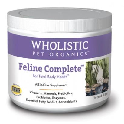 Wholistic Pet Organics SCTWP4 8 oz Feline Complete for Total Body Health