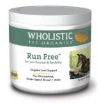 Wholistic Pet Organics STWP199G 2 oz Run Free with Green Lipped Mussel for Dogs