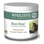 Wholistic Pet Organics STWP200 4 oz Run Free for Joint Function & Flexibility