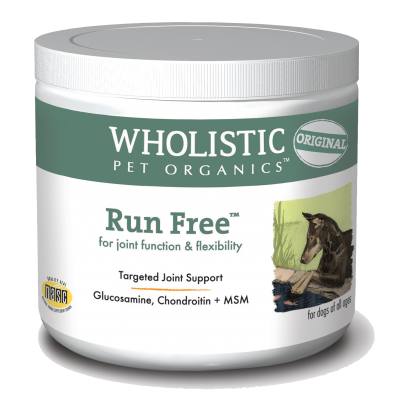 Wholistic Pet Organics STWP200 4 oz Run Free for Joint Function & Flexibility