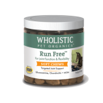 Wholistic Pet Organics STWP20060LG 4 g Run Free Soft Chews for Dogs - 60 Count