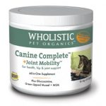Wholistic Pet Organics STWP748G 8 oz Canine Complete Joint Mobility with Green Lipped Mussel